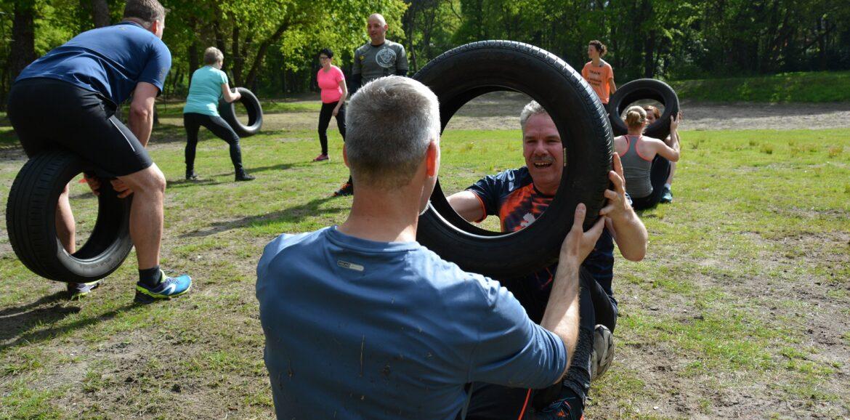 Outdoor training: Onder professionele begeleiding op een leuke manier buiten sporten in de natuur in een kleine groep voor alle conditieniveaus.